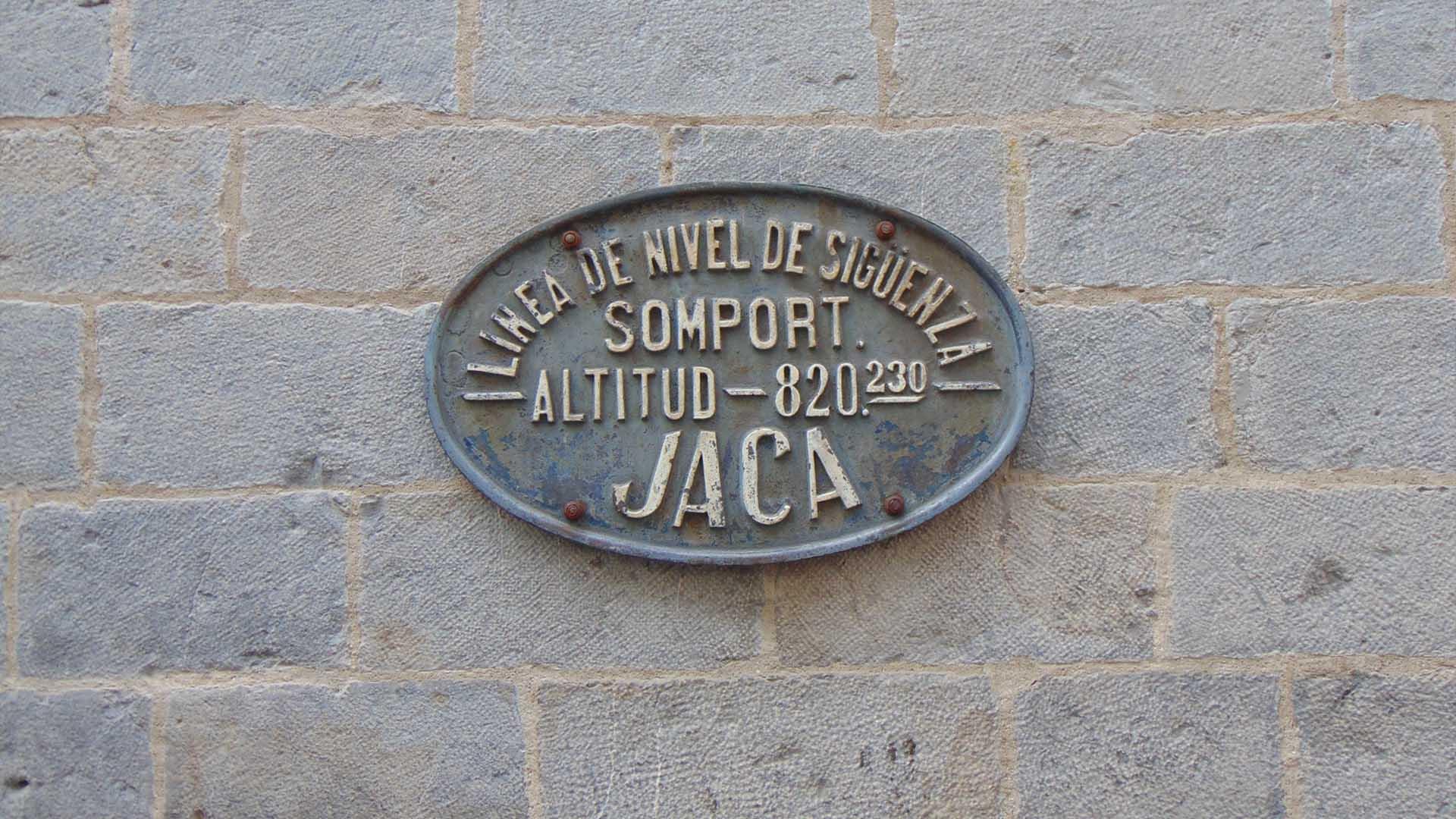 El ayuntamiento de Jaca
