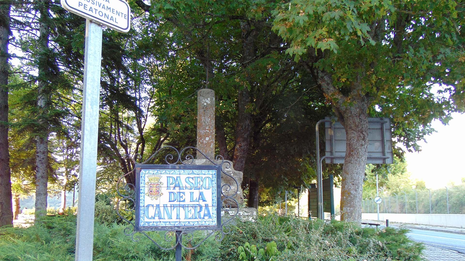 Paseo de la cantera de Jaca