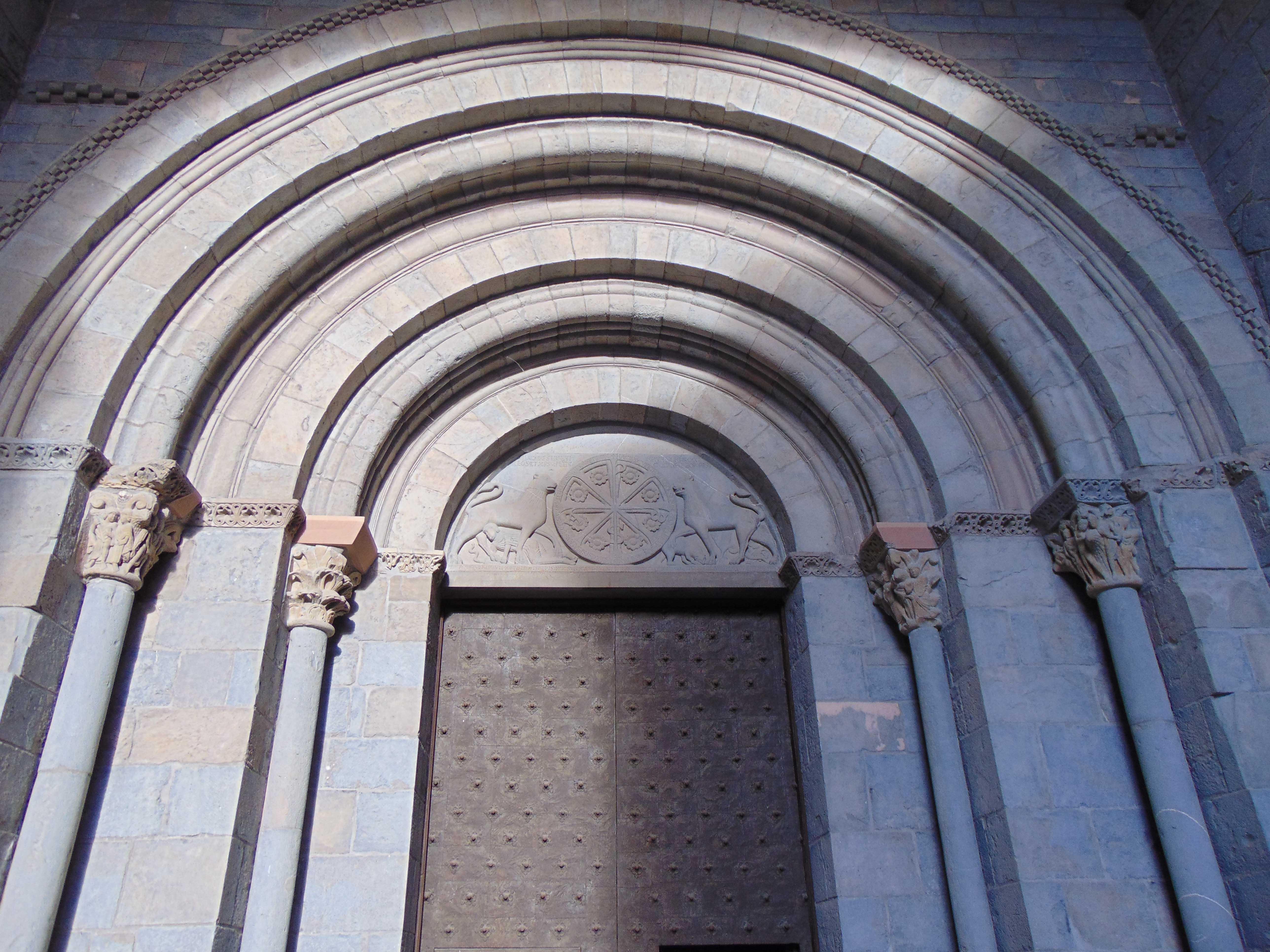 La iglesia de Jaca